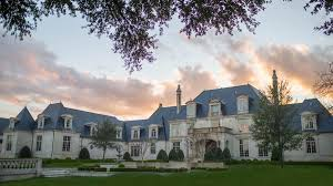 luxury preston hollow estate on dallas u0027 strait lane hits the