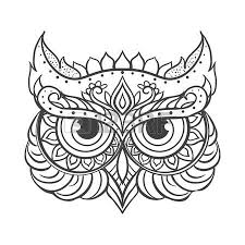 1 668 ornamental owl cliparts stock vector and royalty free