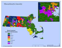 Map Of Mass Massachusetts Ancestry Mass Maps