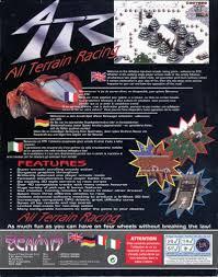 si e auto la route atr all terrain racing 1995 amiga box cover mobygames