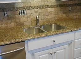 venetian gold light granite backsplash with santa cecilia granite countertops santa cecilia