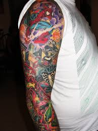 3d tattoo arm sleeves sleeved arms in 3d 3d tattoos