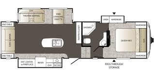 Outback Floor Plans 2015 Keystone Rv Outback Super Lite Fifth Wheel Series M 296 Frs