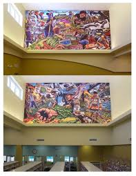 andrew reid and his monumental murals wpb magazine belle glade library murals
