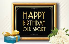 printable happy birthday sport deco style great gatsby