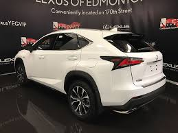 lexus nx 2017 pre owned 2017 lexus nx 200t demo unit f sport series 3 4 door