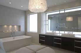Bathroom Lamps Amusing Modern Bathroom Lighting Large Sink With A Small