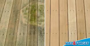 Cleaning Concrete Patio Mold Ask Wet U0026 Forget How Wet U0026 Forget Outdoor Annihilates Stains On
