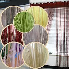 rideau fils 罌 fil voilage porte fen罨tre frange curtain rideau 罌