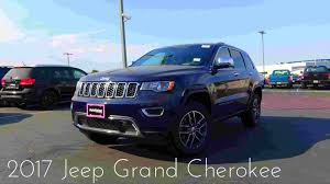 jeep canada 2017 2017 jeep grand cherokee limited 3 6 l v6 review youtube
