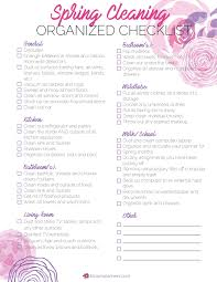 Household Items Checklist by Printables U2013 Bloom Daily Planners