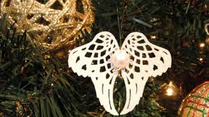 Christmas Decorations Angel Wings by How To Elegant Angel Wings Ornament Diy Home Tutorial