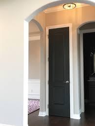 wall sherwin williams accessible beige dark door sw iron ore