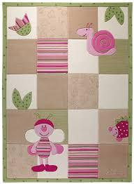 tapis chambre bébé tapis chambre bebe bee beige de la collection esprit