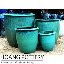 perfect large glazed ceramic planters for indoor outdoor settings