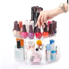 glam caddy cosmetic organizer hold up to 200 items