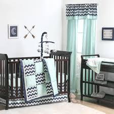 Grey Nursery Bedding Set Navy And Grey Crib Bedding Set Blue Chevron Sarahdinkelacker