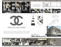Chanel Final Board Boards  Presentations Inspiration - Interior design presentation board ideas