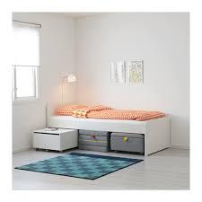 släkt bed frame with slatted bed base ikea