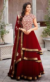 maroon dresses for wedding wear dress wedding dress on rent in indore