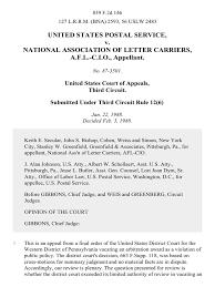 united states postal service v national association of letter