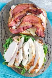 ready turkey thanksgiving cranberry brie u0026 bacon turkey sandwich bread booze bacon
