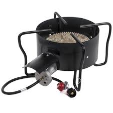 backyard pro outdoor range patio stove with hose guard 210 000 btu