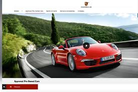 porsche sports car models porsche approved pre owned used scheme approved used car schemes
