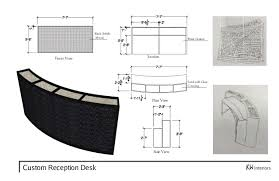Reception Desk Plan Thesis Presentation Corrected Version