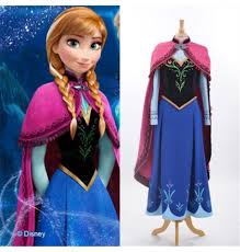 frozen dress for halloween disney frozen fever anna dress cosplay halloween costume deluxe