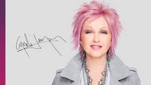 recent tv ads featuring asymmetrical female hairstyles image result for cyndi lauper cosentyx commercial still photos