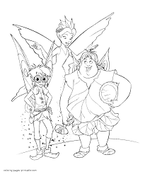 fairy coloring pages tinkerbell