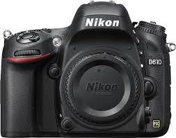 best dslr deals 2017 black friday nikon d610 dslr camera body only black 1540 best buy