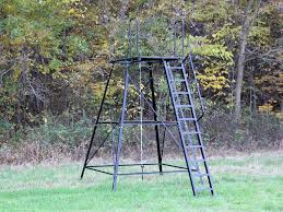 Ground Blind Plans Redneck Tower Stands 5 U0027 10 U0027 And 15 Foot Models For Sale In
