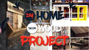 10 diy home decor wood projects youtube