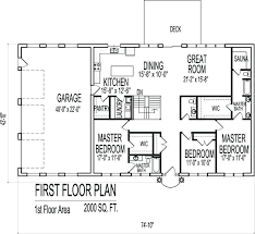 one story open house plans one floor modern house plans novic me