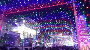 light decoration st s forane church chalakudy festival 2016