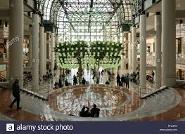 the winter garden of brookfield place in the financial district