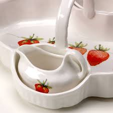 Strawberry Serving Dish By Lindsey Busby Designs