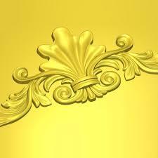 art25 ornamental flourish carver3d