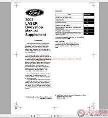 ford laser 2002 workshop manual auto repair manual forum heavy