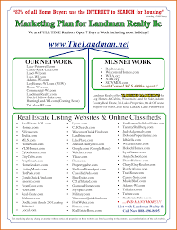 real estate marketing plan templatereference letters words