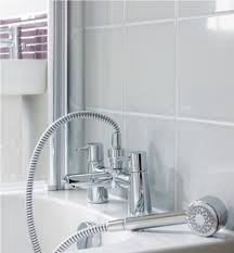 ideal standard cone bath shower mixer tap with shower kit additional image of ideal standards b5111aa additional image of ideal standard cone bath shower mixer