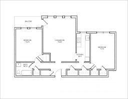 Two Bedroom Floor Plans Algonquin Hanna Properties