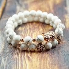 rose gold bracelet set images Gentstone women 39 s bracelet lucky buddha in rose gold cz diamond jpg