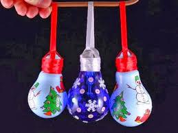Christmas Decorations With Light Bulbs diy light bulb christmas ornaments best home design ideas