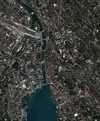 Satellite Map Live Downtown Zürich Switzerland Image Of The Day