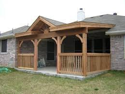 raised ranch front porch designs decoto deck oof plans images