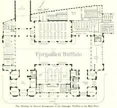 Ferry Terminal Floor Plan Forgotten Buffalo Featuring Central Terminal