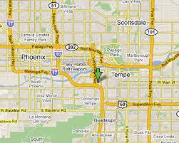 mesa az map maricopa az map my
